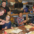 We made LED flashlight kits, no one was burned, and everyone was happy. It doesn't get much better… :) HUGE THANKS to Radio Shack for donating some of the kits […]