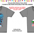Orlando Mini Maker Faire 2013 shirts are now available through FamiLAB for only $10 per shirt, and net proceeds benefit FamiLAB ensuring that we can continue our mission and […]