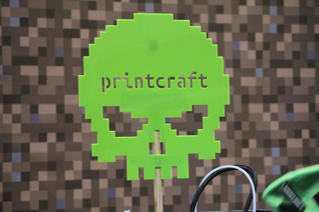 minecon - printcraft - sign