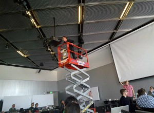 ceiling copter stuck