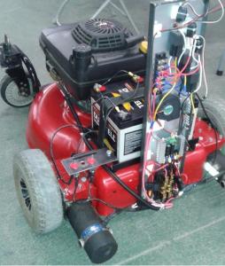 Building a Remote Control Lawn Mower