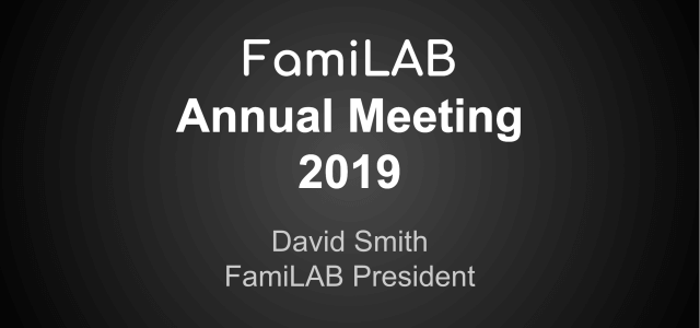 Another year has come and gone, we are another year older and hopefully wiser. This past Saturday, FamiLAB held its annual meeting in our classroom, where we discussed the current […]